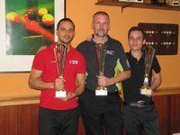 Gewinner der Billard-Landesmeisterschaft 2016